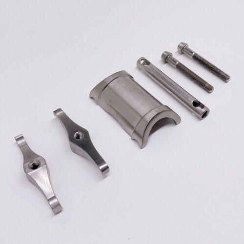 Titanium Alloy 3AL2.5V 31.8mm CNC Seatpost for Brompton Folding Bike 3 Sizes