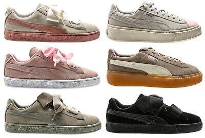 Puma Suede Platform Jewel Jr SNK Junior Sneaker Schuhe Women Youth | eBay