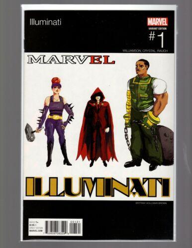 Illuminati #1 Hip Hop Variant NM New Unread