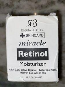 Radha Beauty Retinol Moisturizer Miracle Cream Skincare 1 ...