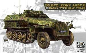 AFV-Club-1-35-Sd-Kfz-251-9-Ausf-C-Half-Track-35251-new-Sealed
