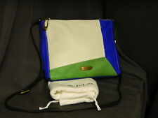 T Tahari Multi Color Leather Shoulder Bag Purse H34053 NEW WITH TAG Dust Bag