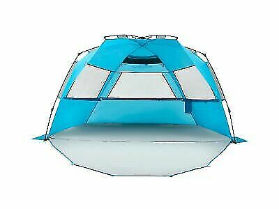 Pacific Breeze Easy Setup Beach Tent Deluxe Xl With