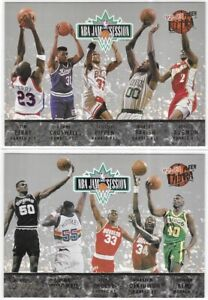 1992-93 Fleer Ultra NBA Jam Session Set Of 2 Top 20 Michael Jordan Pippen ++