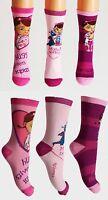 Disney Doc McStuffins Girls Toddlers Ankle 3x Socks Age 2 3 4 6 7 8 9 FREE P&P