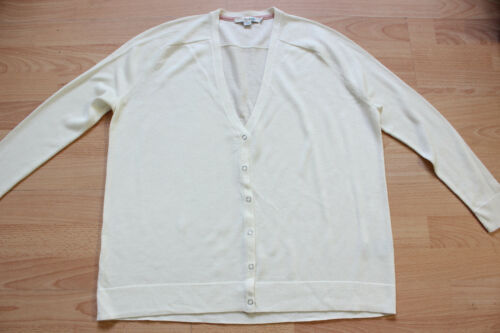 S Décontracté Cardigan Ivory Taille Boden Wu046 zaB8q1w