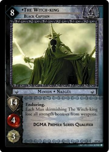 LoTR TCG Promo The Witch-King Black Captain 0P61