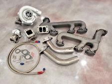 GM 4.3L Turbo Kit Hot Parts T3 Cast 4.3 GMC Chevy Turbocharger V6 Wastegate Oil