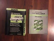 2004 Toyota Camry Solara Electrical Wiring Diagram Service Manual Ebay