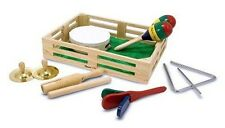 Melissa & Doug 7 Pieces Beginner Band In A Box For Budding Musician! #488