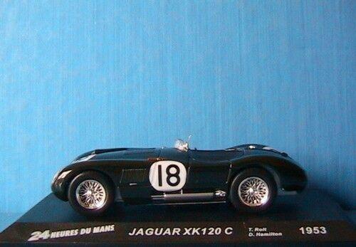 JAGUAR JAGUAR JAGUAR XK120 C HEURES MANS 1953 ROLT HAMILTON IXO ALTAYA 1 43 d30001