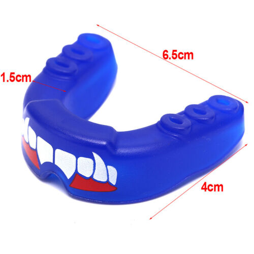 Fang Mouth Guard Gum Shield Muay Thai Boxing Football Basketball Teeth Protect~*