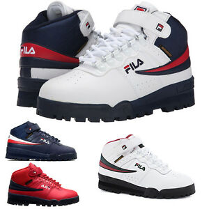 NEW Mens Fila F13 F-13 Mid High Top Weather Tech Sneaker ...