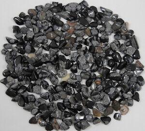1-4-LB-OBSIDIAN-SNOWFLAKE-250-XS-MINI-TUMBLED-STONES-SZ-2-Crystal-Healing-114-g