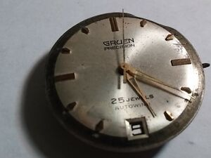Gruen-710-watch-movement-used-for-watch-repair-parts