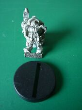 "WH40K Rogue Trader Imperial Squat Barry Schmeisser with Las Pistol 4 "" Rare OOP"