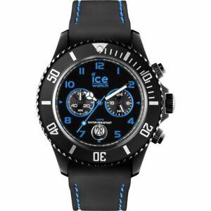 Ice-Watch-Chronograph-Chrono-Drift-44-mm-Icewatch-Schwarz-Blau-Uhr-Herren-Gross