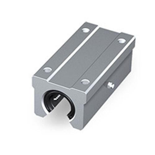 1pcs 20 mm SBR20LUU Router Motion Bearing Solide Block Unit XYZ CNC SBR Series