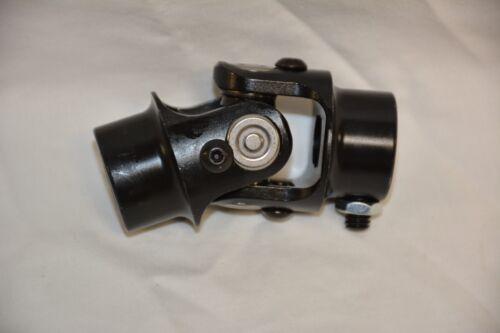 "BLACK 3//4/"" DD x 17mm DD Steering Shaft U Joint street rod universal coupler"