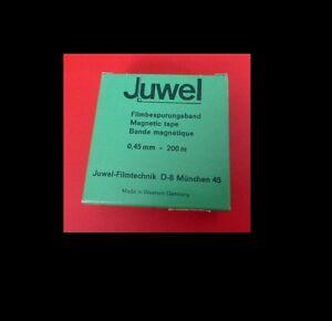 JUWEL Film-Bespurungsband 0,45mm - 200m NEU, Agfa-F5 Band - Friedberg, Deutschland - JUWEL Film-Bespurungsband 0,45mm - 200m NEU, Agfa-F5 Band - Friedberg, Deutschland