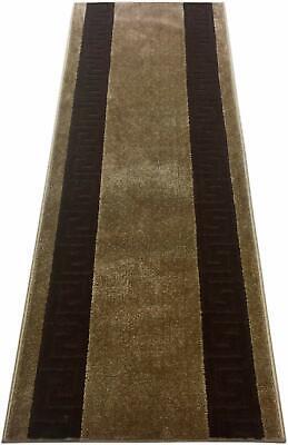 Custom Trellis Border Design Roll Runner 26Inch Wide x Your Length Size L.Grey
