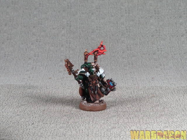 25mm Warhammer 40K WDS painted Dark Angels Angels Of Redemption Asmodai r16