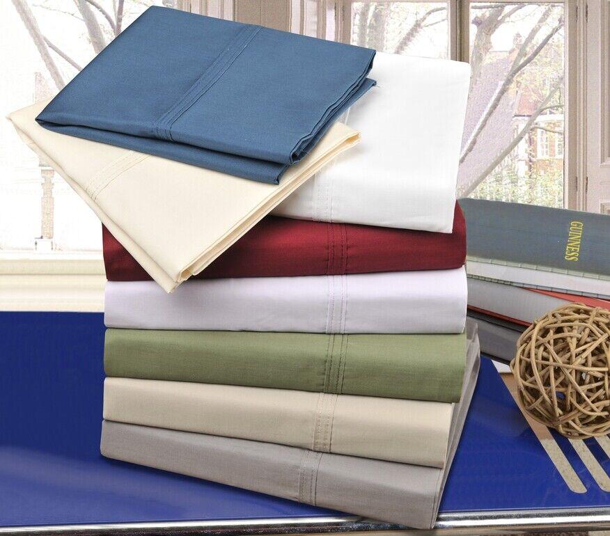 Soft Cotton Percale Sheet Set
