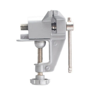 Miniature Table Vice Bench Screw Bench Vise for Jewelries Crafts DIY 30mm