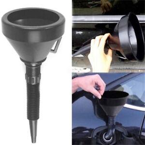 Flexible Spout Funnel Engine Oil Fluids Gasoline Kerosene Car Extension Hose