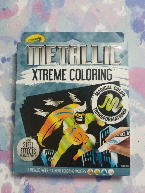Crayola Color Wonder Magical Metallic Colors - Mess Coloring