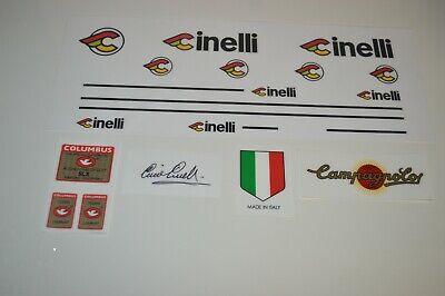 n.6 Stickers Black Cinelli Super Corsa Decals