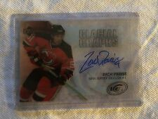 05/06 UPPER DECK ICE ZACH PARISE NEW JERSEY DEVILS GLACIAL GRAPHS AUTO