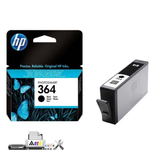 Original HP Photosmart 364 Tinte Schwarz/Black CB316EE Photosmart Druckerpatrone