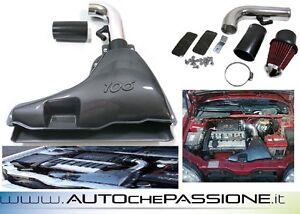 Kit-Sistema-Filtro-Peugeot-106-1993-gt-2003-Cup-airbox-air-box-aspirazione-rally