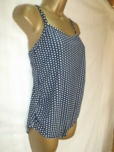 ab372d1544f39 Image is loading MOTHERCARE-LADIES-NAVY-BLUE-amp-WHITE-SPOTTED-MATERNITY-