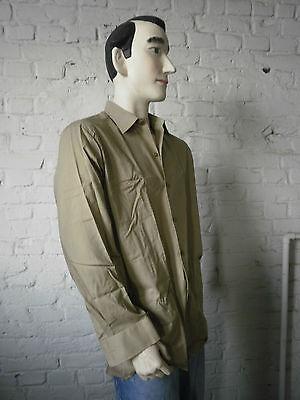 Cooperativa Polanex Gniezno Uomo Camicia Shirt 80s Nos True Vintage 80er Tempo Libero Camicie Nos-