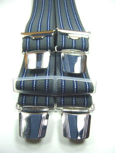 starke Hosenträger in vielen Farben mit extra starken ABC-Klips 35mm breit