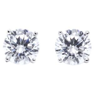 0-50-Ct-Round-Cut-Stud-Diamond-Earrings-in-Solid-14k-White-Gold-Screw-Back-Studs