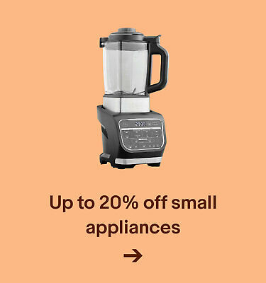 Up to 20% off small appliances