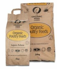 Allen & Page Organic Layers Pellets 5kg/20kg Poultry Feed Non GM Ingredients