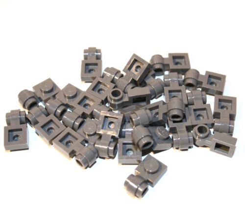 25x LEGO® Platte 1x1 mit Öse/Ring/Clip Light 4081 NEU dunkelgrau LEGO Bausteine & Bauzubehör LEGO Bau- & Konstruktionsspielzeug