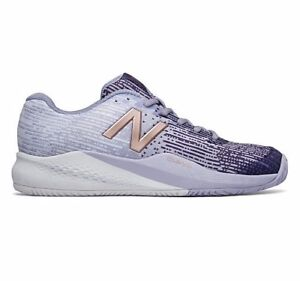 c147bdc528c Details about New Balance WC 996 PROBANK White Grey Gold Tennis Court Shoes  5 D Womens