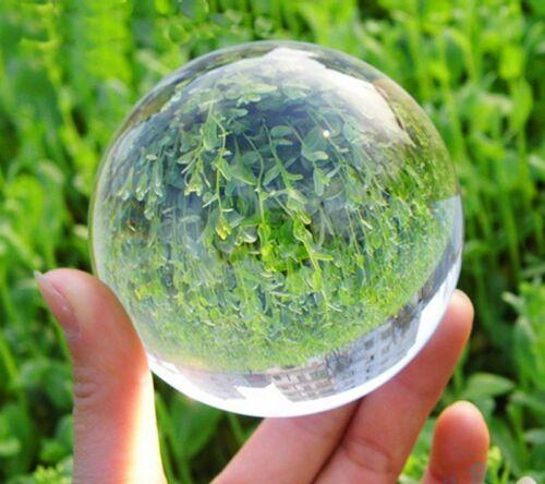 Natural Quartz Clear Magic Crystal Healing Ball Sphere 40mm 60mm 80mm 100mm