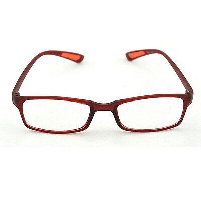 New Flexible Eyeglasses Unisex Light Reading Glasses Resin Lens Black 1.0 To 4.0