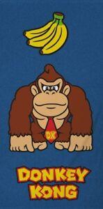 Nintendo-Handtuch-Donkey-Kong-Lootchest-Exklusiv-140-x-70-cm-NEU-amp-OVP