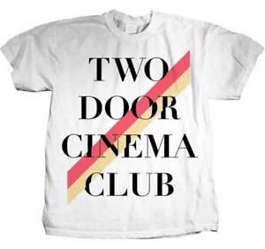 TWO-DOOR-CINEMA-CLUB-Stripe-T-SHIRT-S-M-L-XL-New-Official-Hi-Fidelity-Merch