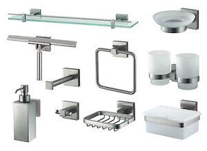 Details zu Bad Accessoires Mezzo Tec Haceka Badezimmer Badausstattung  Modern Luxus Edel