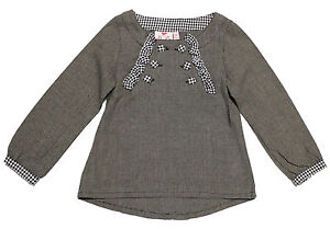 NWT-Fore-N-Birdie-Girls-039-Houndstooth-Button-Top-Size-3T