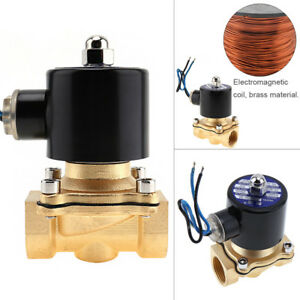 12v-DC-Electric-Solenoid-Valve-Water-Air-Gas-Fuels-1-2-INCH-NPT-BRASS