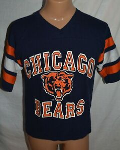 official photos 75624 c914d Details about Vintage 80s Chicago Bears Jersey Shirt Logo 7 Super Bowl  Football NFL size M